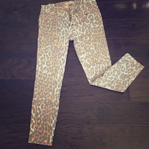 REPOSH! Joe's Leopard Skinny Jeans 👖🐆
